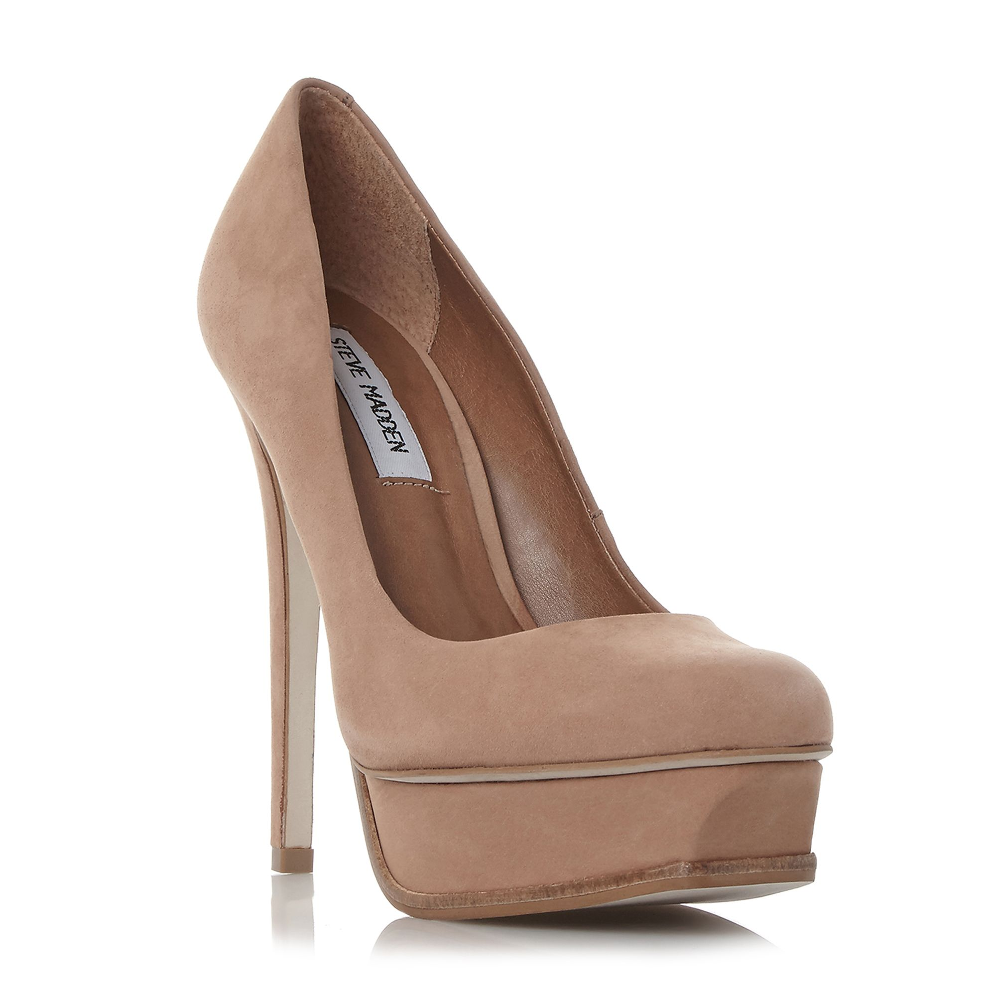 Tan Ladies Court Shoes House Of Fraser