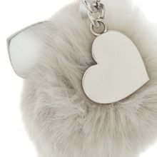 Dune Sia cat ear pom pom bag charm