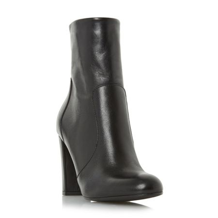 Dune Otto round toe heeled ankle boots