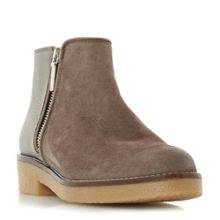 Dune Portland crepe sole ankle boots