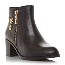 Dune Pemberley point ankle boots