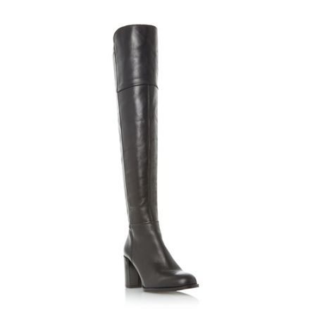 Dune Tommy over the knee boots