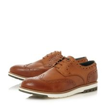 Barbour Palmer contrast leather brogue shoes