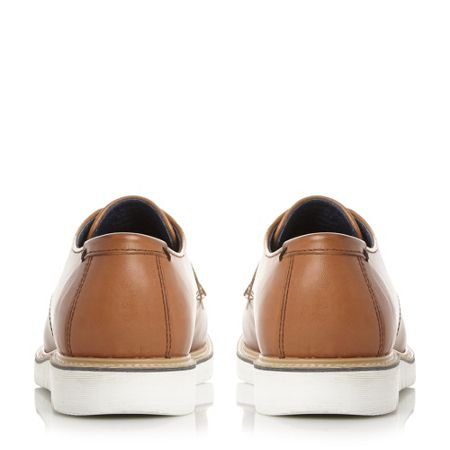 Dune Borneo colour pop wedge gibson shoes