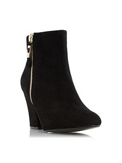 Orley side zip ankle boots