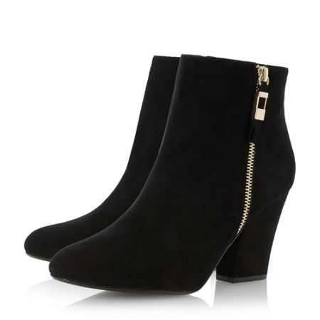 Dune Orley side zip ankle boots