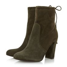 Dune Orchid stretch ankle boots