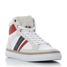 Tommy Hilfiger Maze 2 retro branded hi-top trainers