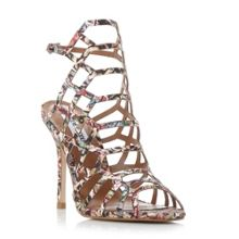Steve Madden Slither caged high heel sandals