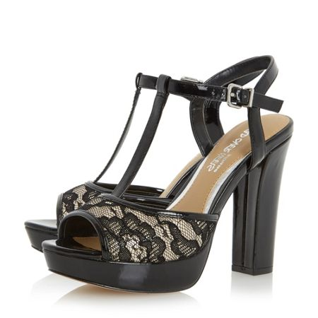Head Over Heels Mada t-bar platform sandals