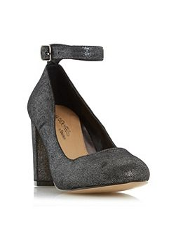 Ariana ankle strap court shoes