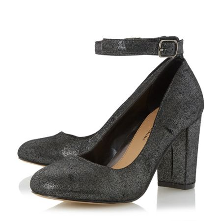 Head Over Heels Ariana ankle strap court shoes