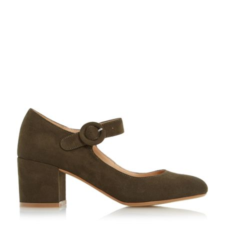 Head Over Heels Arletta block heel mary jane court shoes