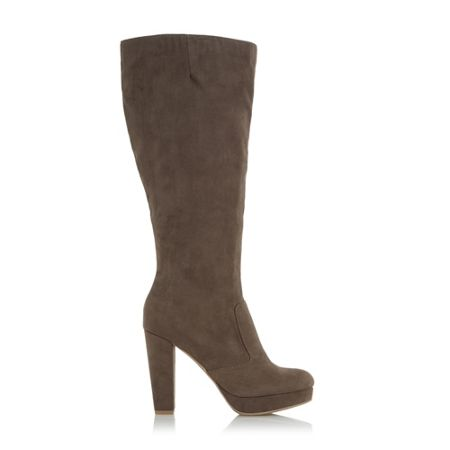 Head Over Heels Sonni platform knee high boots