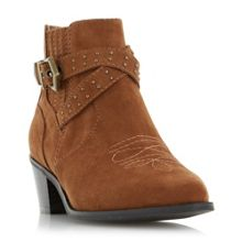 Head Over Heels Paxx western buckle boots