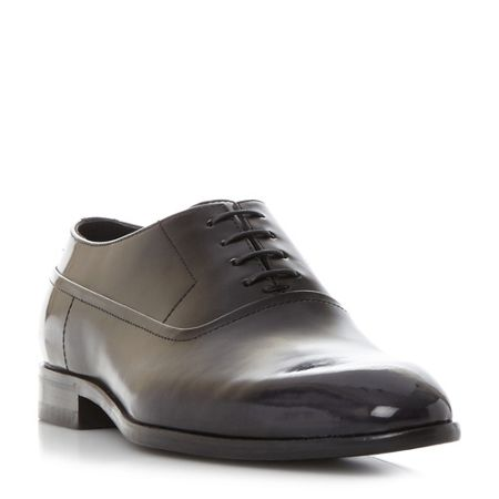 Hugo Boss Dressapp brushed leather oxford shoes