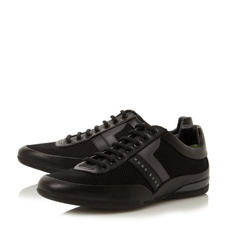 Hugo Boss Space low cambo printed trainers