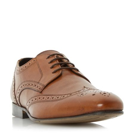 Howick Rushmoor leather brogue shoes