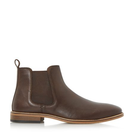 Linea Con air leather chelsea boots