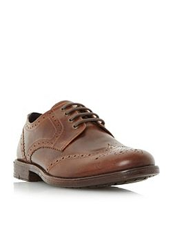Breakfast casual lace up brogue shoes
