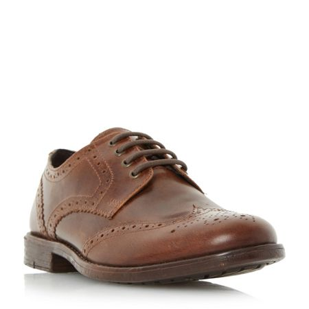 Linea Breakfast casual lace up brogue shoes