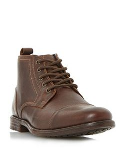 Cashback toecap lace up boots