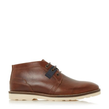 Linea Cracker jack white sole lace up boots
