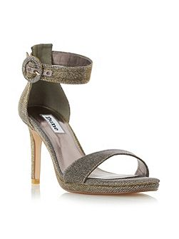 Miami two part high heel sandals