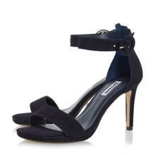 Dune Miami two part high heel sandals