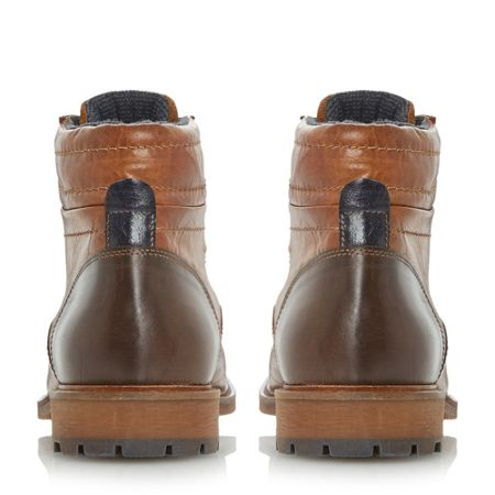 Bertie Clef toecap lace up boots