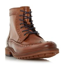 Bertie Coolio toecap lace up boots