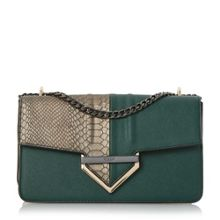 Dune Dabulous curb chain shoulder bag
