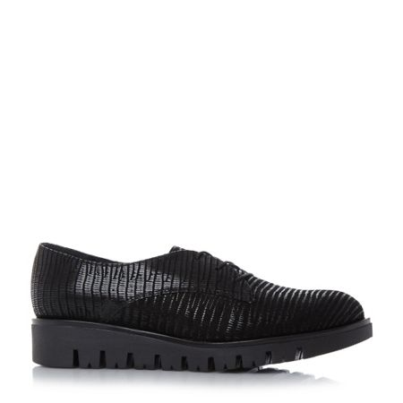 Dune Future lace up flats