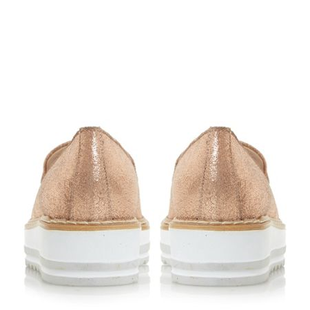 Dune Grayze slipper loafers