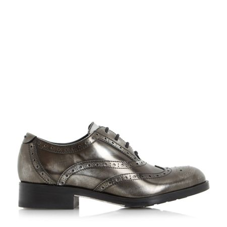 Dune Farnley lace up brogue shoes