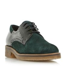 Dune Faithe crepe laceup shoes