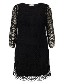 Plus Size Martina tapework dress