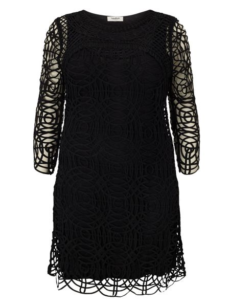 Studio 8 Plus Size Martina tapework dress