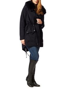 Plus Size Faith parka coat