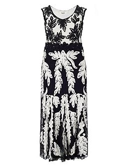 Plus Size Lizzie tapework maxi dress