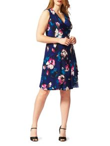 Studio 8 Plus Size Sonia colour pop dress