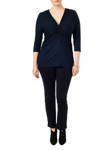 Studio 8 Plus Size Lydia knot top