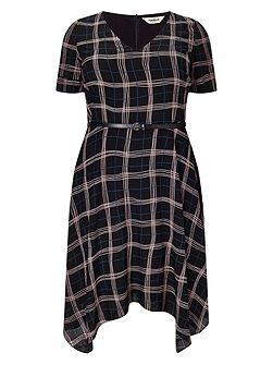 Plus Size Kelly check dress