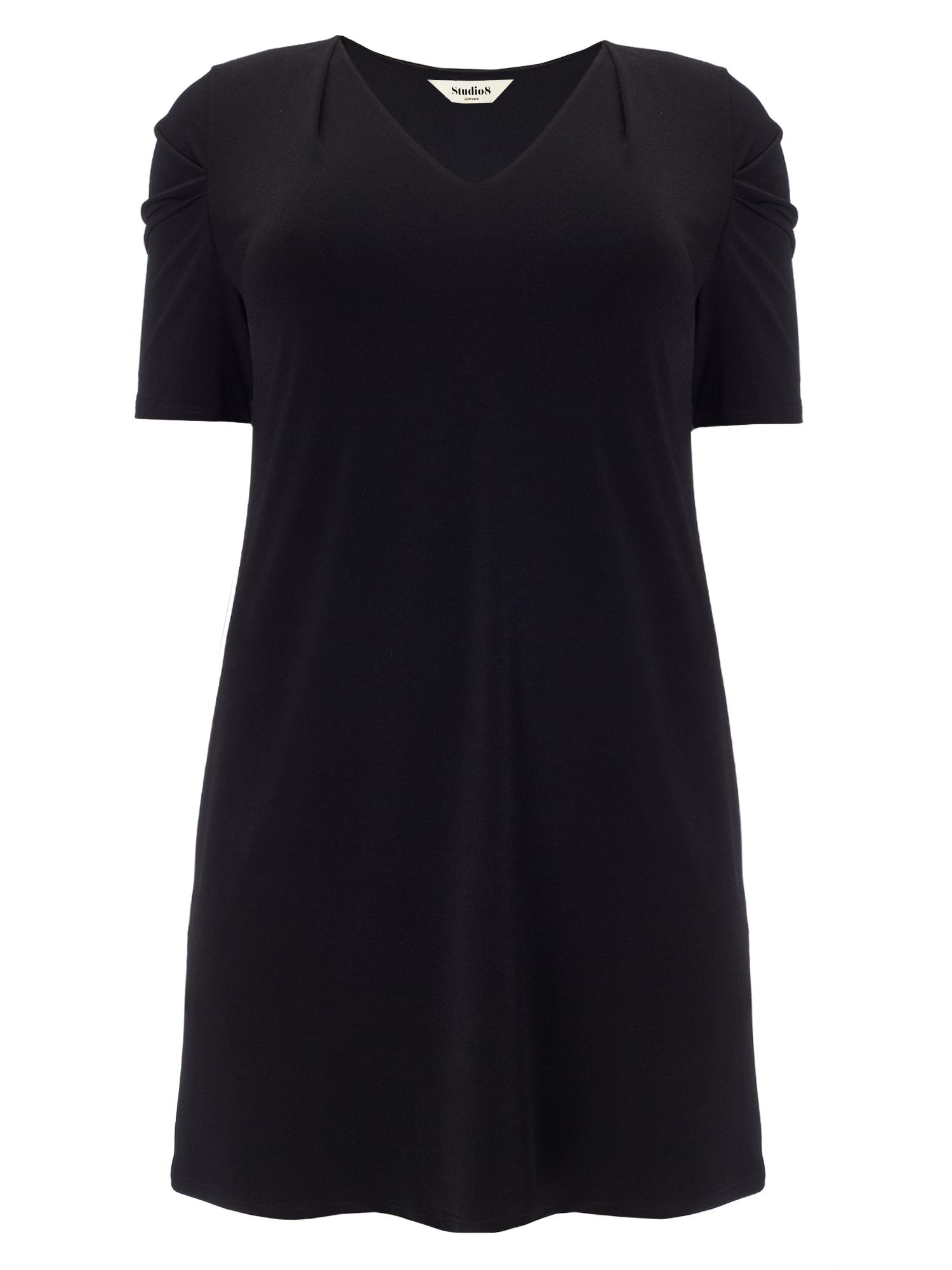 Studio 8 Plus Size Megan tunic dress, Black