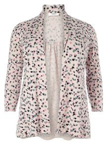 Studio 8 Molly print spot cardigan