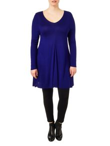 Plus Size Georgia swing knit tunic