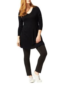Studio 8 Plus Size Georgia swing knit tunic