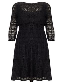 Plus Size Maya lace dress