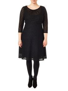 Studio 8 Plus Size Maya lace dress
