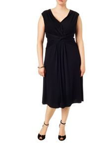 Plus Size Marnie knot dress